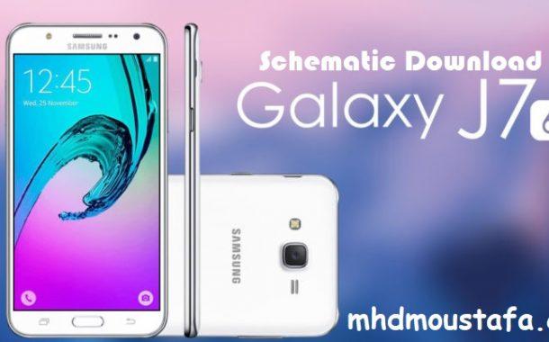Samsung SM-J710F (J7 2016) Schematic Download