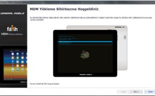 General Mobile E-Tab 4 MDM Fabrika Yazılımı